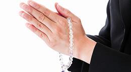 念珠の糸替え