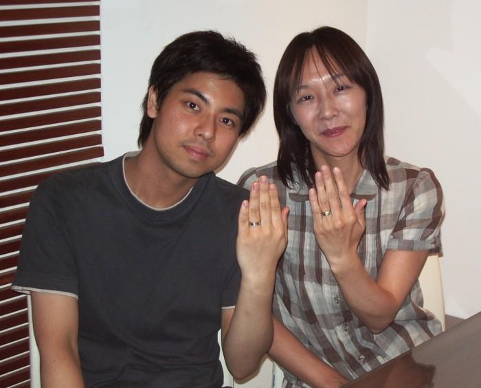 Tomohiko様 Junko様
